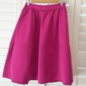 Hot Pink Express Skirt